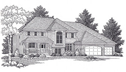 Hennepin County Custom Home Design