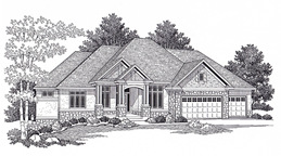 St. Cloud Custom Home Design