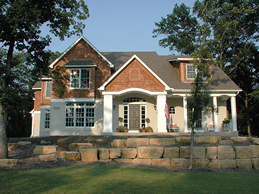Lakeville Custom Home Design